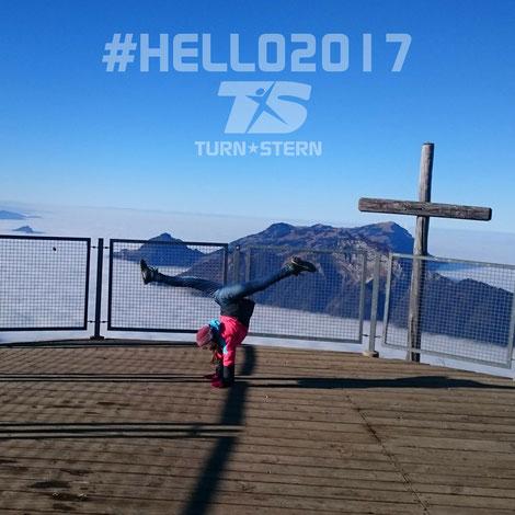 TURNSTERN wünscht euch Höhenflüge im 2017