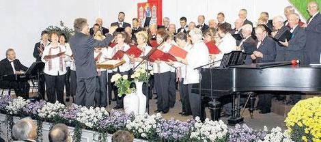 Konzert zum 130-jährigen Jubiläum - 23.10.2011