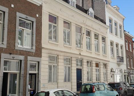 Kleine Gracht 17 Maastricht, rijksmonument, achttiende eeuw, bouwhistorisch onderzoek