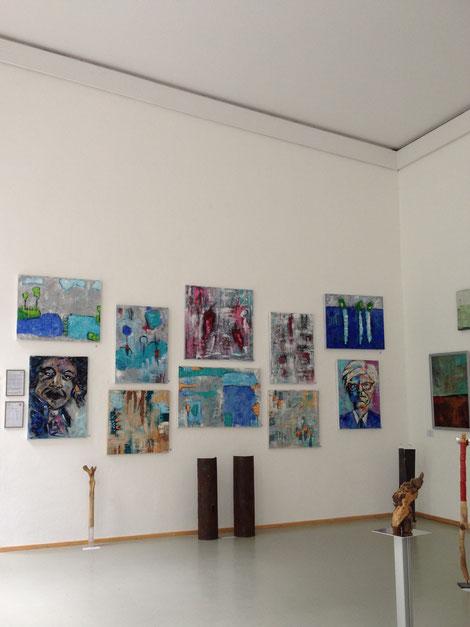 Linda Ferrante - Vernissage und Ausstellung - Orangerie Englischer Garten München