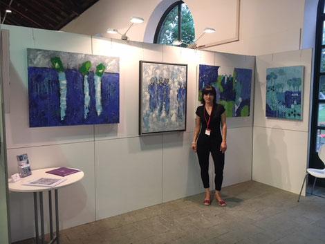 Linda Ferrante - Ausstellung - Kunstmesse Ingolstadt 2018