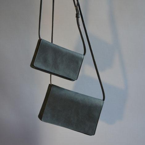 ASCK Tasche N° 01 und Tasche N° 02 Größenvergleich in Vorderansicht