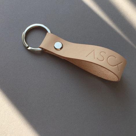 ASCK Schlüsselband N° 01 short natural