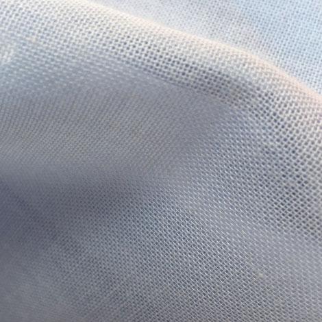 SCK hellblauer zwei-lagiger Rock aus 100% Baumwolle aus kontrolliert biologischen Anbau