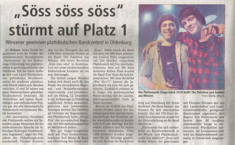 Winsener Anzeiger 03.12.2014