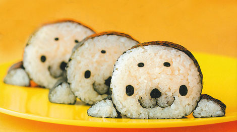 Focas de sushi.