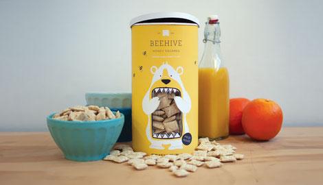 Los niños querrán imitar al osito hacer lo mismo! Feliz desayuno!