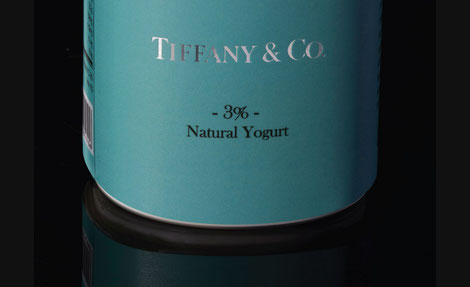 yogur de Tiffany & Co