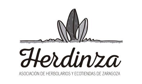 Logotipo a grises para Herdinza