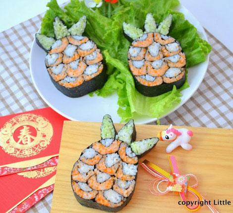 Piña de sushi!