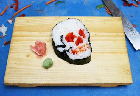 El sushi del terror!!