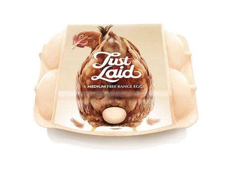 Nunca comprar huevos será tan bonito como con esta caja.