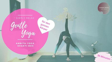 Gentle Yoga für den ganzen Körper | Online Abo Yoga@Home