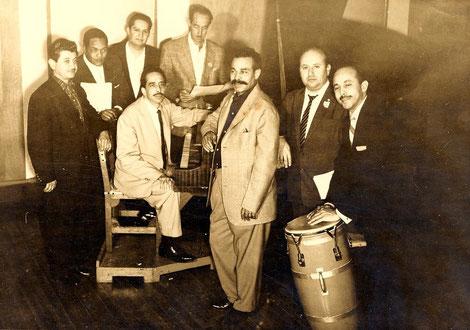 Bienvenido Granda y Orquesta de Yoyo Casteleiro - 1957.