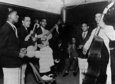 Bienvenido Granda, sin bigote - Septeto Nacional - 1936.