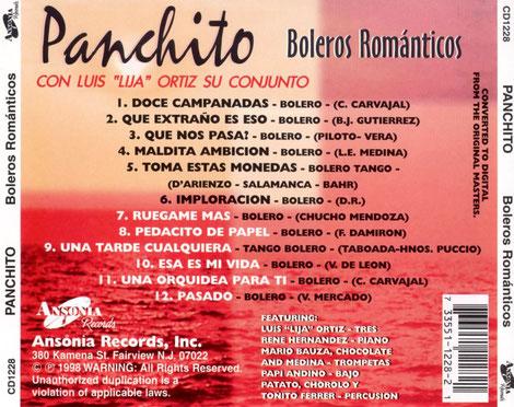 Boleros con Panchito y Luis Lija Ortíz.
