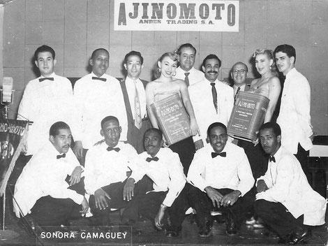 Bienvenido Granda en Nicaragua - 1957.