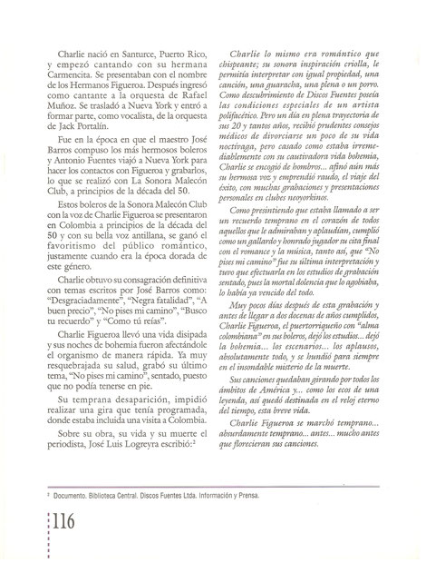 """""""Colombia Musical"""", página 116."""
