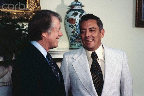 Jimmy Carter y Omar Torrijos - 1977.