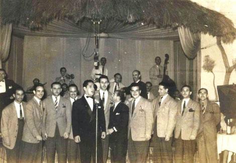 Despedida al Conjunto Casino en el Zombie Club - 1943.