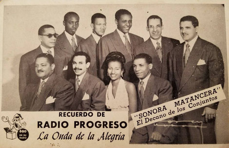 Conjunto Sonora Matancera.