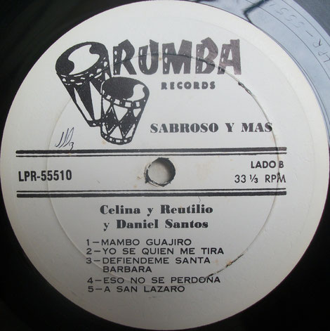 Rumba Records - LPR-55510-B.