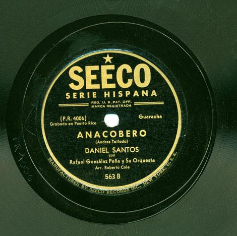"Seeco 563-B, ""Anacobero""."