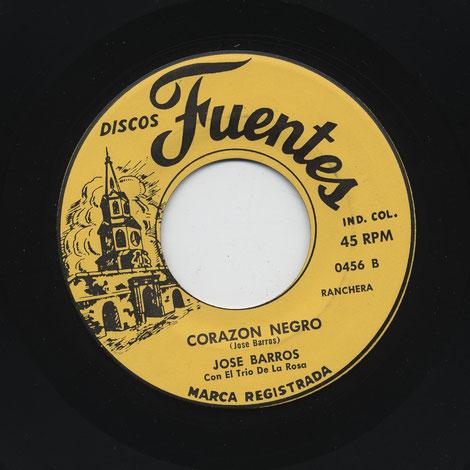 """Fuentes 0456-B, """"Corazón negro""""."""