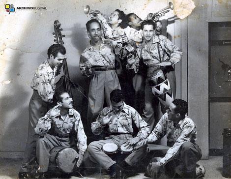 Sonora Caracas, década del 50.