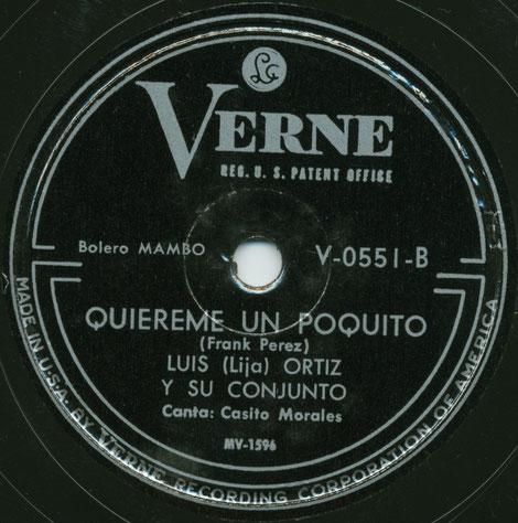 Verne 551-B - Quiéreme un poquito.