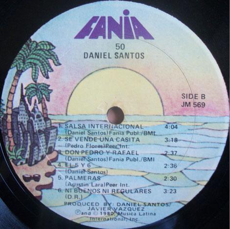 50 Daniel Santos - Fania 569 - Sello B.