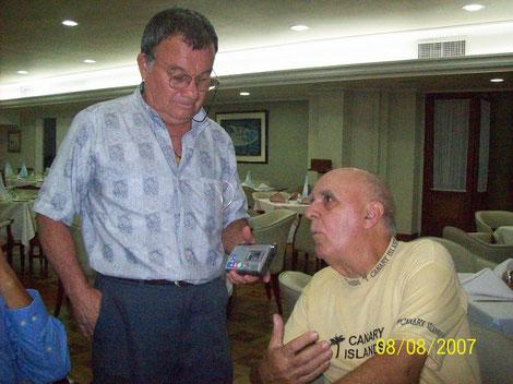 Helio Orovio, entrevistado por el profesor y melómano Juan Gómez Paz.