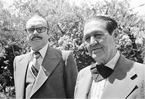 Jorge Villamil y Pacho Galán.