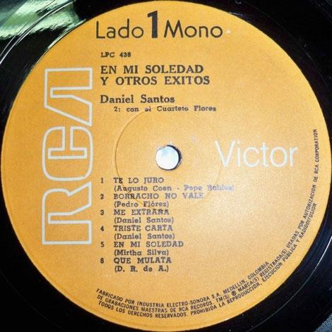 """LPC-438-A, """"En mi soledad y otros éxitos""""."""