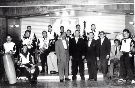 Bienvenido Granda y Orquesta Maryval en Costa Rica - 1955.