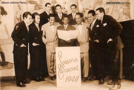 Sonora Caracas en 1948.