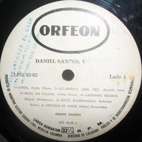 Orfeón 063 - Cara A.