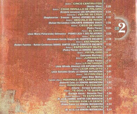 Fuentes E20172 - CD 2.
