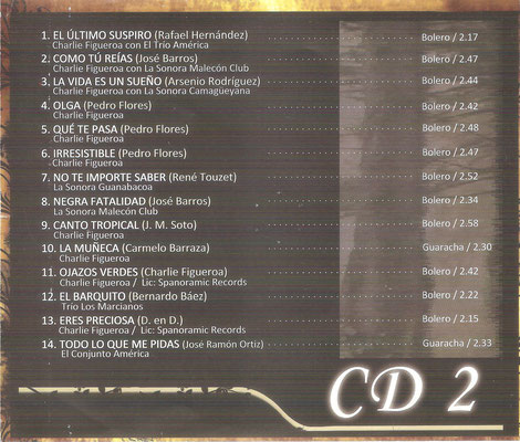 Fuentes E20267 - CD 2.