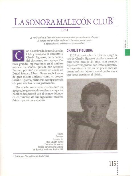 """""""Colombia Musical"""", página 115."""
