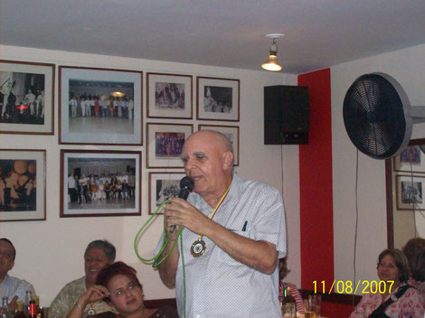 El maestro Helio Orovio, el día de la clausura del evento.