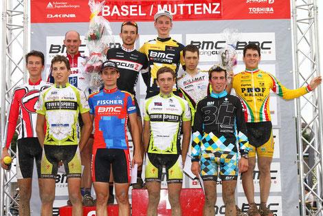 Podest BMC Racing Cup Basel/Muttenz