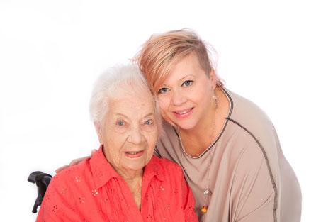Mit Unterstützung das Alter genießen