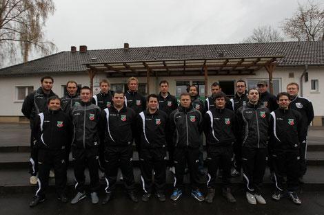 2.Mannschaft Kader 2011/2012