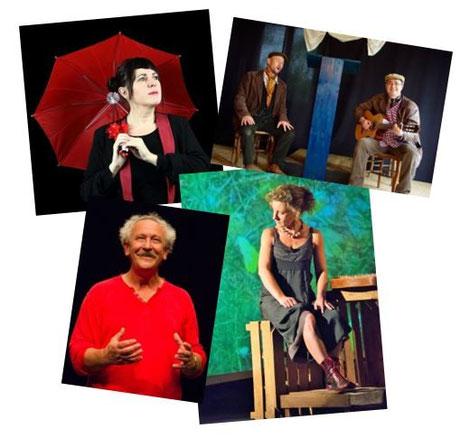 ©Crédits photos : Sophie Verdier (en haut à gauche), Reynald Flory et Gil Picard-Denous (en haut à droite), Eugène Guignon (en bas à gauche) et Caroline Avenel (en bas à droite)