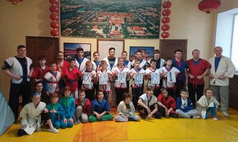 Семинар мастера по китайской борьбе шуайцзяо Ван Тунчина, апрель 2017 г.
