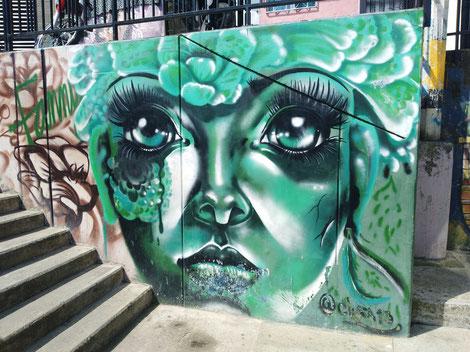 Graffiti Tour Medellín Comuna 13 Kunst Kultur