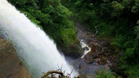Region Putumayo Kolumbien Reisen Wasserfall Natur
