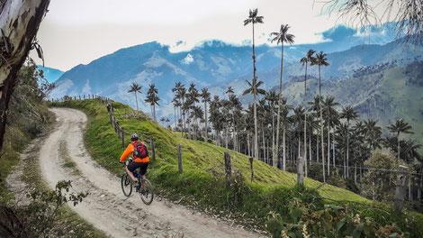Mountainbike Touren Kolumbien Aktiv geführt individuell