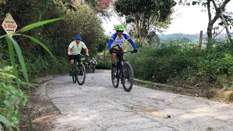 Filandia Kaffeeregion Kolumbien Reisen MTB Fahrrad Tour